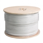 Cable 500M RG6/168 PeopleFu (White)