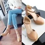 Preorder รองเท้าแฟชั่น สไตล์เกาหลี 34-39 รหัส N5-5571