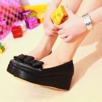 พร้อมส่ง รองเท้าแฟชั่น ไซส์ใหญ่ ไซส์ 41 สีดำ (สินค้ามีตำหนิ) รหัส PP-9DA-7524