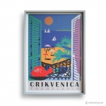 Reproduction Vintage Poster - YUKOSLAVIA