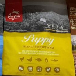 orijen puppy dogfood 2kg. 1040รวมส่ง