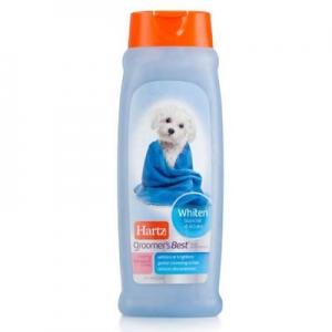 Hartz Groomer's Best - Whitening shampoo 532ml 320รวมส่ง