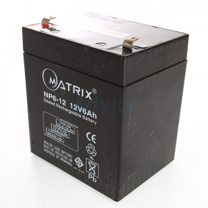 "Battery 6Ah 12V ""Matrix"""