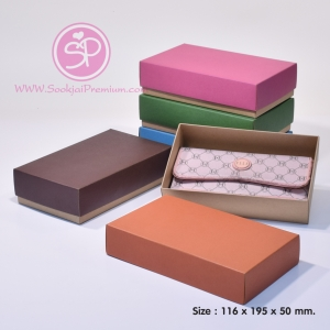 ฝาสีต่างๆ ขนาด 11.6 x 19.5 x 5.0 ซม. (บรรจุ 50 กล่องต่อแพ็ค)