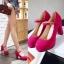 Preorder รองเท้าแฟชั่น สไตล์ เกาหลี 34-43 รหัส 9DA-1379 thumbnail 1