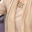 รหัส B51 เสื้อสตรีแขนยาวผ้าpolyester/cotton สวมใส่สวยสบาย ตัดเย็บเรียบร้อย thumbnail 3