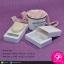 กล่องทรงกลักไม้ขีด สีขาว (ขนาด : ดูที่รูป) (บรรจุแพ็คละ 50 กล่อง) thumbnail 1