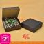 กล่องขนมฝาในตัว สีดำ ขนาด 15 x 15 x 5 ซม. (บรรจุ 50 กล่องต่อแพ็ค) thumbnail 1