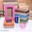กล่องฝาครอบ ฝาสีต่างๆ ขนาด 16.0 x 25.3 x 8.0 ซม. มีหน้าต่าง thumbnail 1