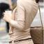รหัส B51 เสื้อสตรีแขนยาวผ้าpolyester/cotton สวมใส่สวยสบาย ตัดเย็บเรียบร้อย thumbnail 6