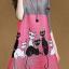 รหัส MN34 เดรสไสตล์เกาหลีดีเทล ผ้าพลีทโพลีเอสเตอร์ พิมพ์ลายที่ตัวเสื้อ คอกลมแขนสามส่วน ทรงสวย เนื้อผ้าทิ้งตัวสวย การตัดเย็บเรียบร้อย สีสดชัด คุณภาพดีค่ะ thumbnail 4