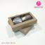 กล่องสบู่แบบซองสวม ขนาด 6 x 10 x 2 ซม สีคราฟธรรมชาติ (บรรจุแพ็คละ 50 กล่อง) thumbnail 1