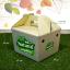 กล่องทรงหูหิ้ว ขนาด 19.0 x 22.0 x 16.0 ซม. (ปริมาตรบรรจุ) (บรรจุ 25 กล่องต่อแพ็ค) thumbnail 3