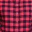 เสื้อลายสก๊อตผู้ชายสีแดง Red Flannel Shirt thumbnail 3