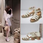 Preorder รองเท้าแฟชั่น สไตล์เกาหลี 34-43 รหัส N5-7483
