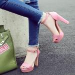 Preorder รองเท้าแฟชั่น สไตล์เกาหลี 33-40 รหัส N5-7286