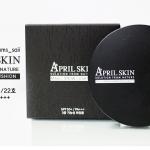 April Skin Magic Snow CC Cushion SPF50+ / PA+++ ตลับสีดำ
