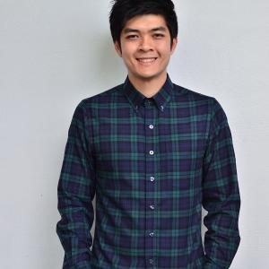 เสื้อลายสก๊อตสีเขียว Green Flannel Shirt