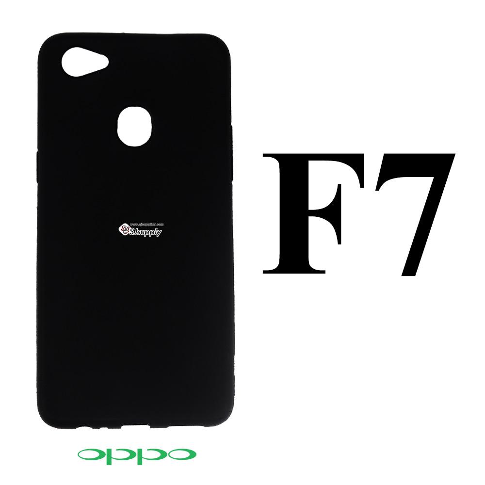 เคส Oppo F7 ซิลิโคน นิ่มดำ