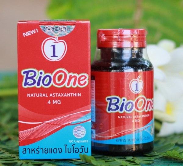 BioOne สาหร่ายแดงไบโอวัน ขนาด 60 แคปซูล ของแท้ จากรายการทีวี