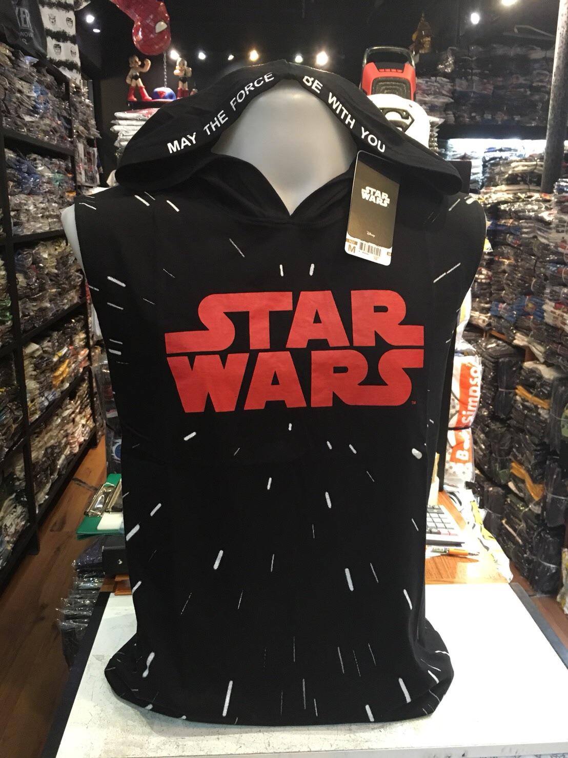 สตาร์วอร์ แขนกุด-ฮู้ด (Starwars space (แขนกุด-ฮู้ด))