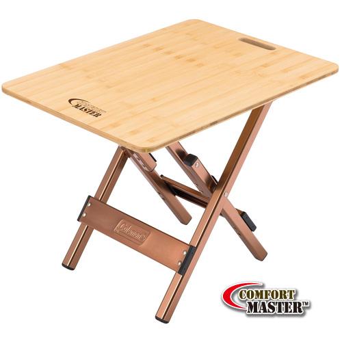 โต๊ะพับ Coleman Bamboo Side Table
