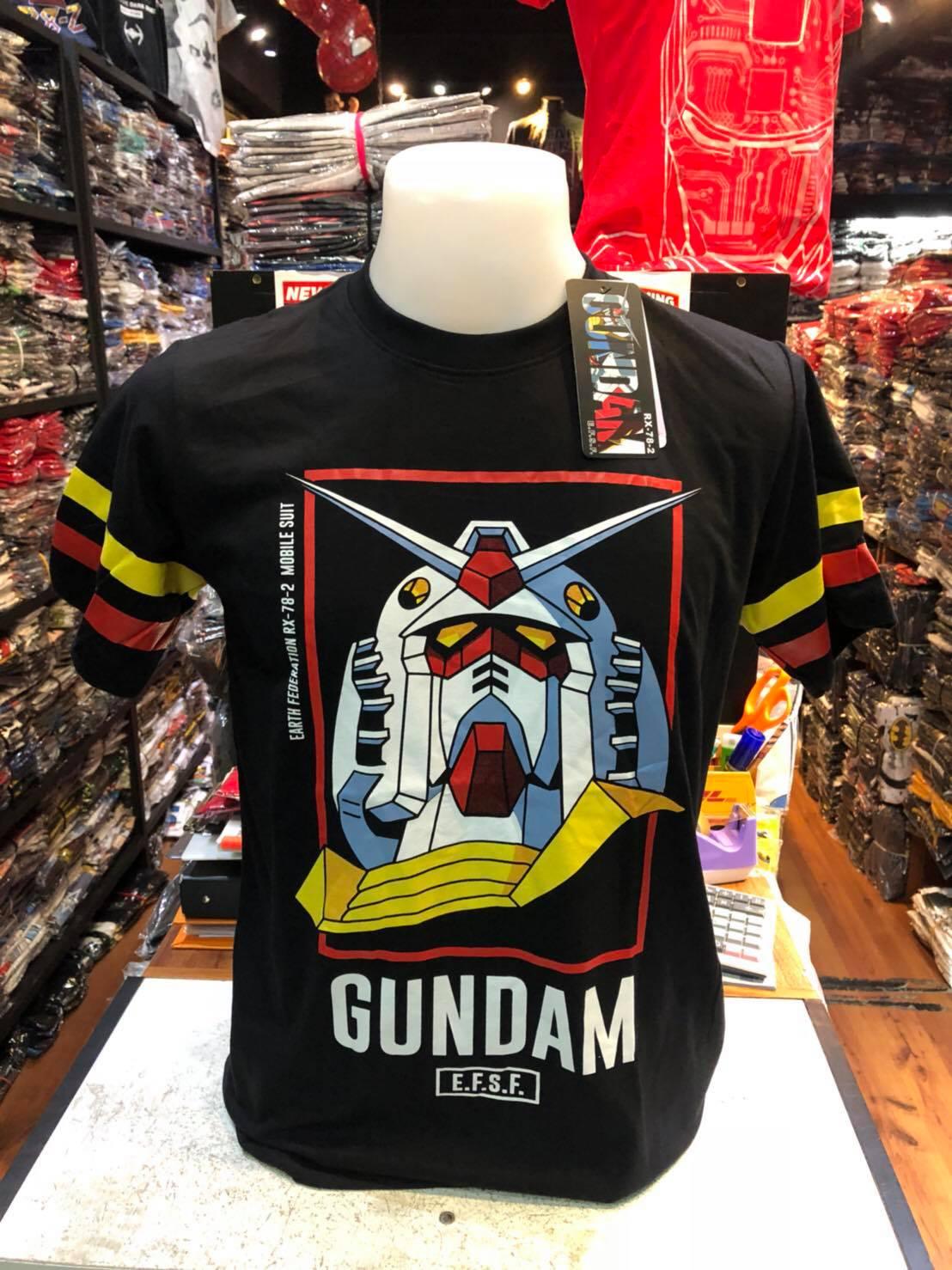 กันดั้ม สีดำ (Gundam face E.F.S.F Black CODE:1075)