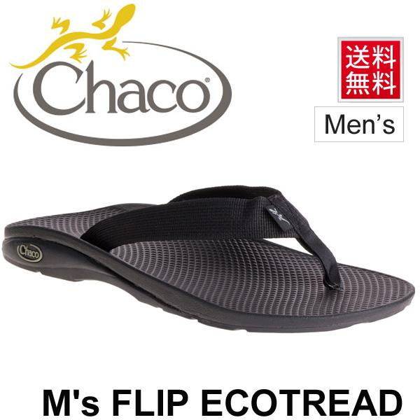 รองเท้าแตะ Chaco Men Flip Ecotread Black #เบอร์ 10 US