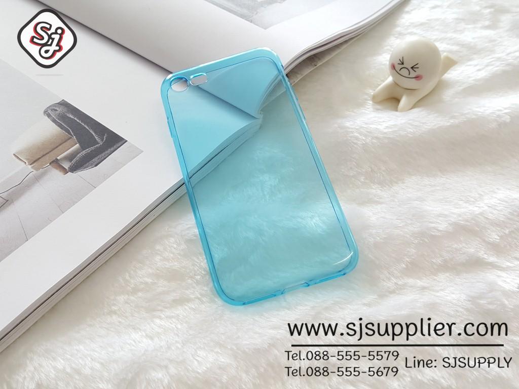 เคส Samsung Grand2 ซิลิโคน สีฟ้า