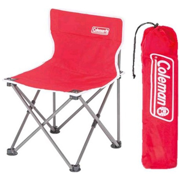 Coleman Compact Cushion Chair #Red