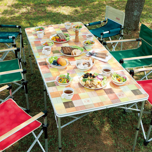 Coleman Natural Mosaic Living Table/180
