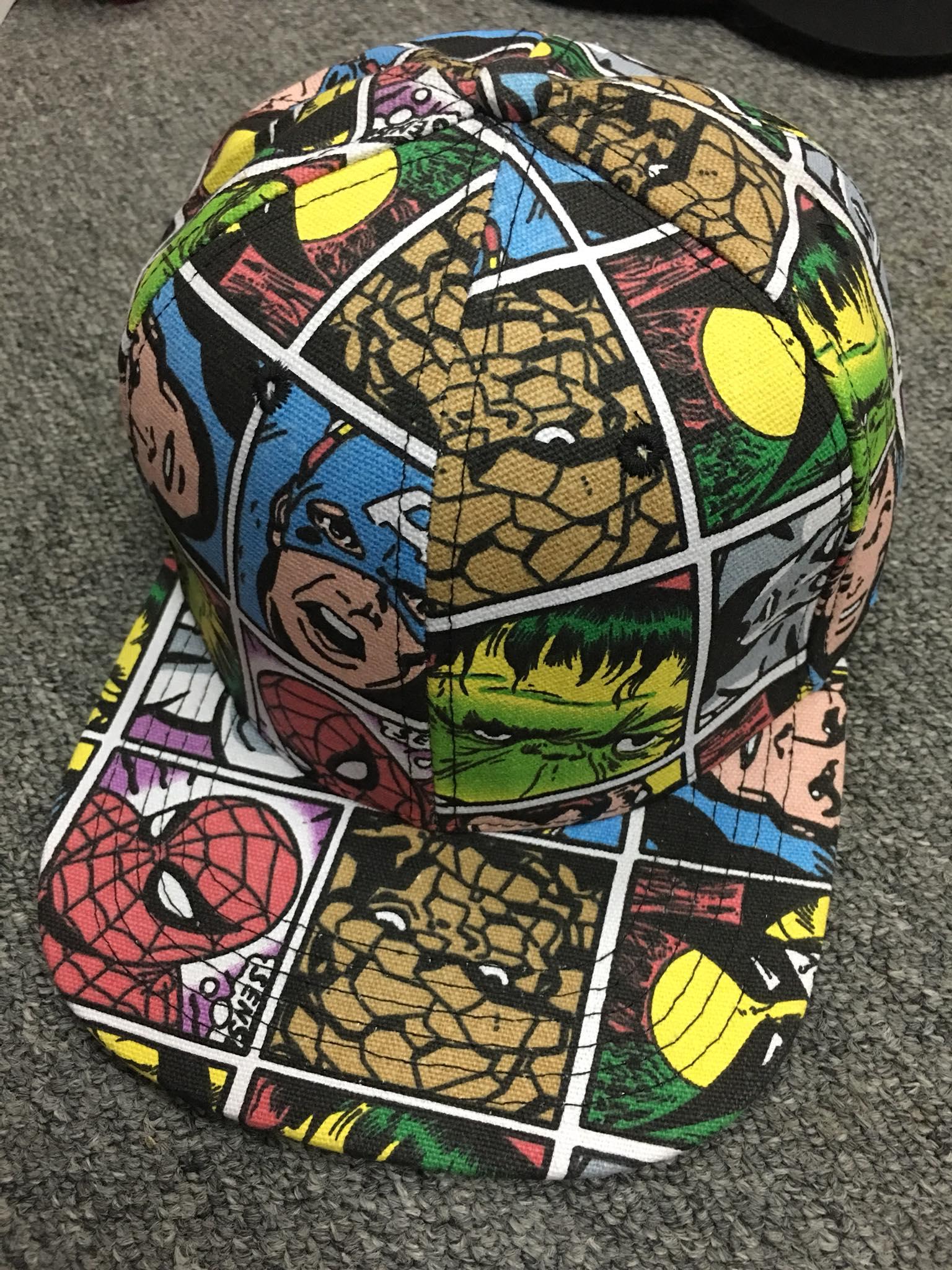 หมวก Marvel (Marvel comic colour)