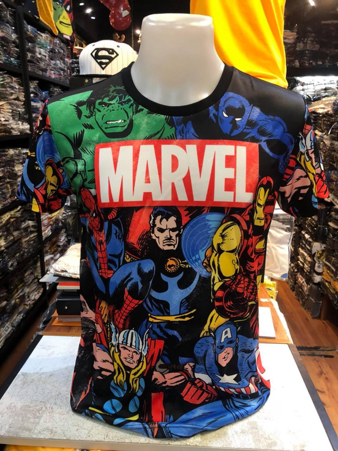 มาร์เวลฮีโร่ SCUBA (Marvel Hero logo Color)
