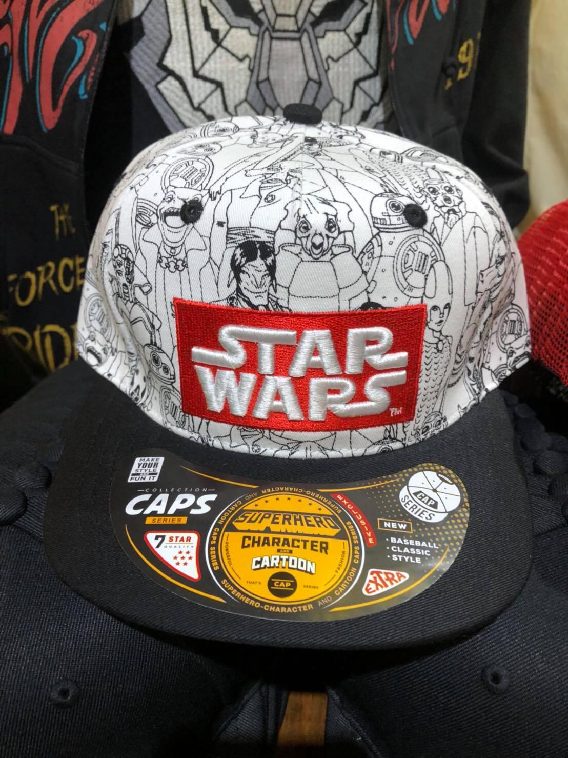 หมวก Starwars (Starwars White1121)