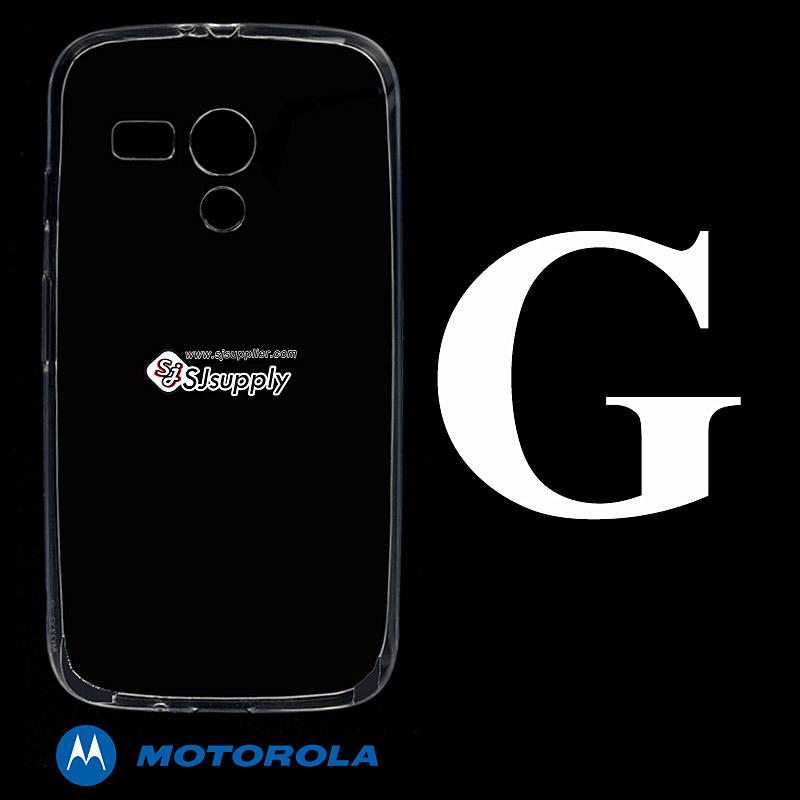 เคส Moto G ซิลิโคน สีใส