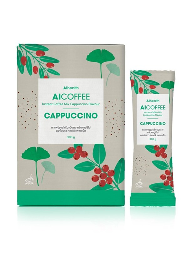 AICOFFEE CAPPUCCINO กาแฟปรุงสำเร็จรสคาปูชิโน่ ตรา ไอคอฟฟี่