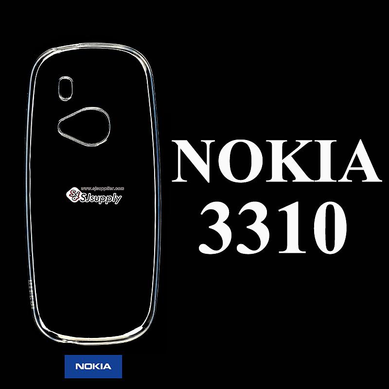 เคส Nokia 3310 ซิลิโคน สีใส