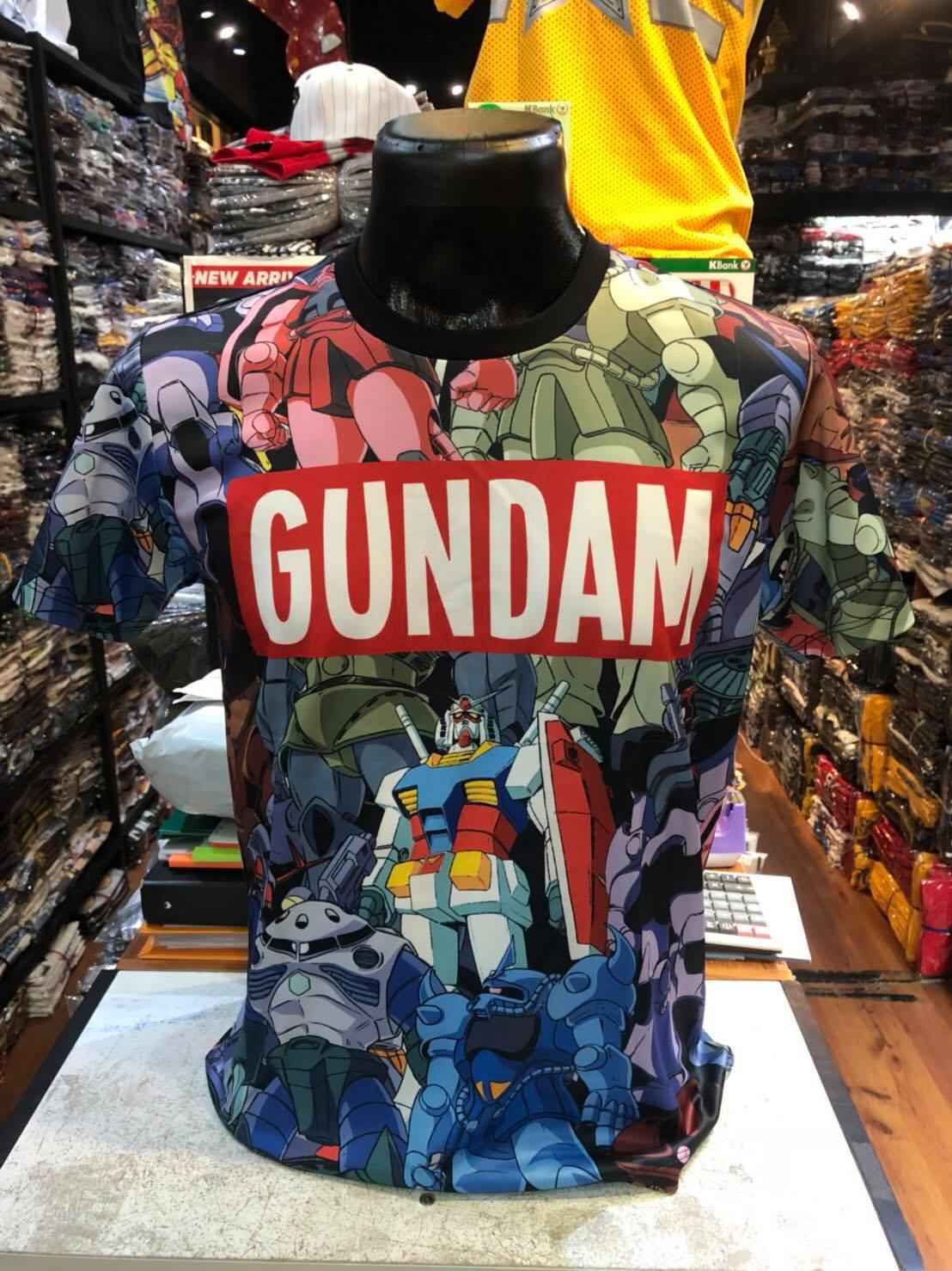 กันดั้ม SCUBA (Gundam red logo CODE:1140)