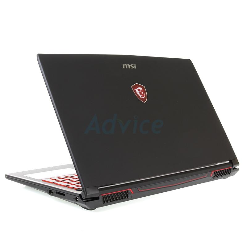 Notebook MSI GL62M 7RDX-2044XTH (Black)
