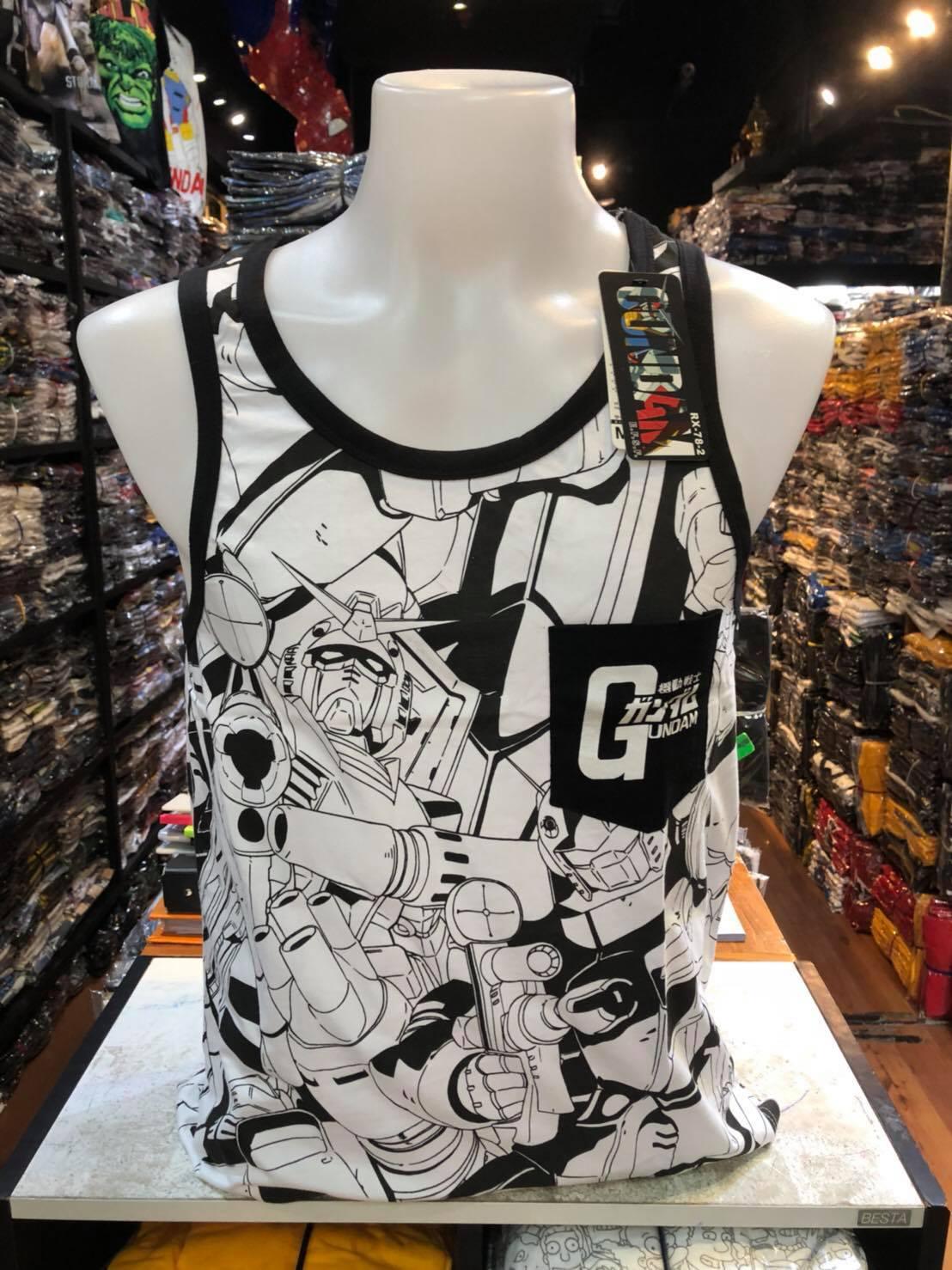 กันดั้ม เสื้อกล้าม (Gundam black CODE:1169)