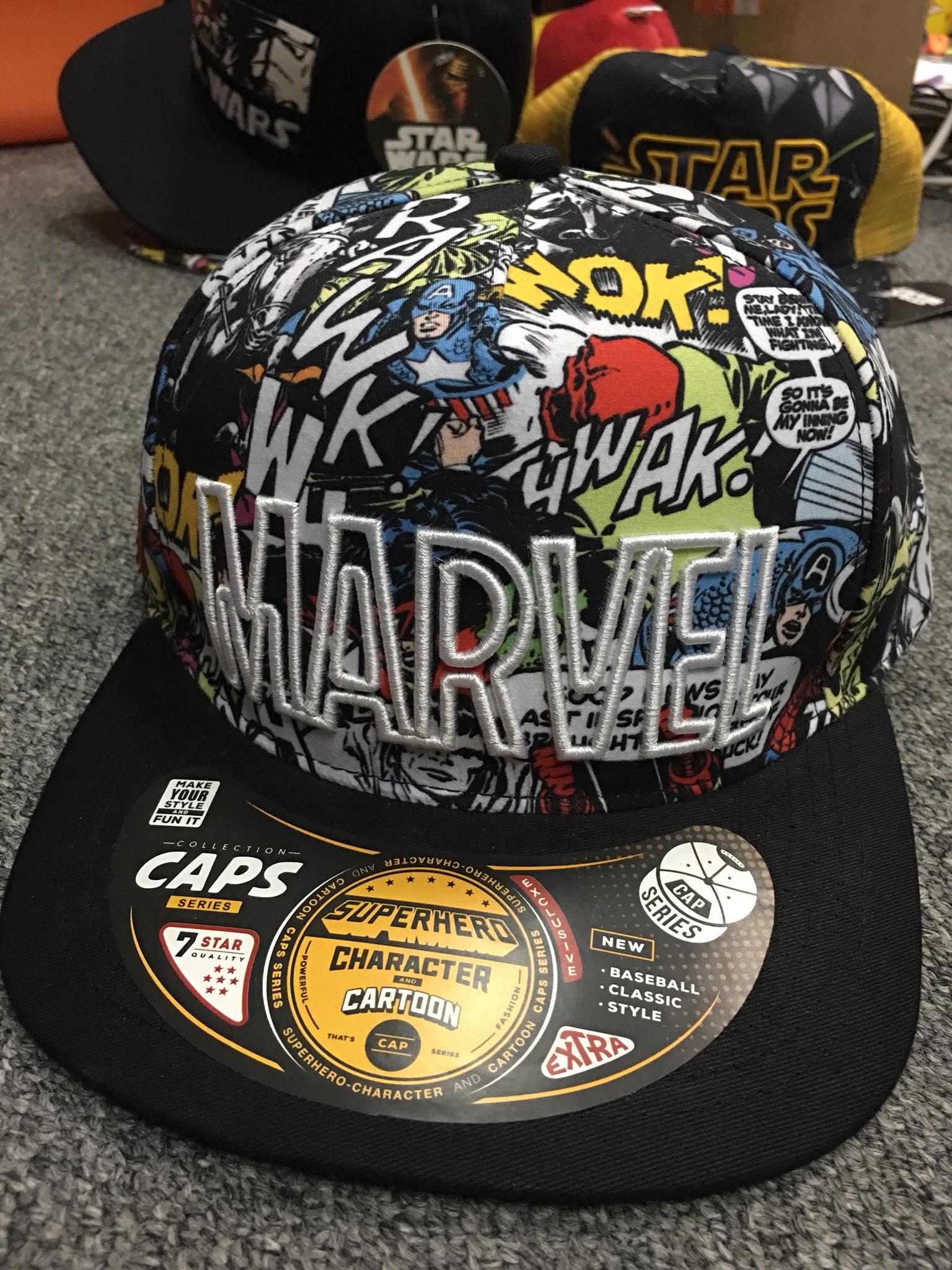 หมวก Marvel (Marvel comic CODE:1243)