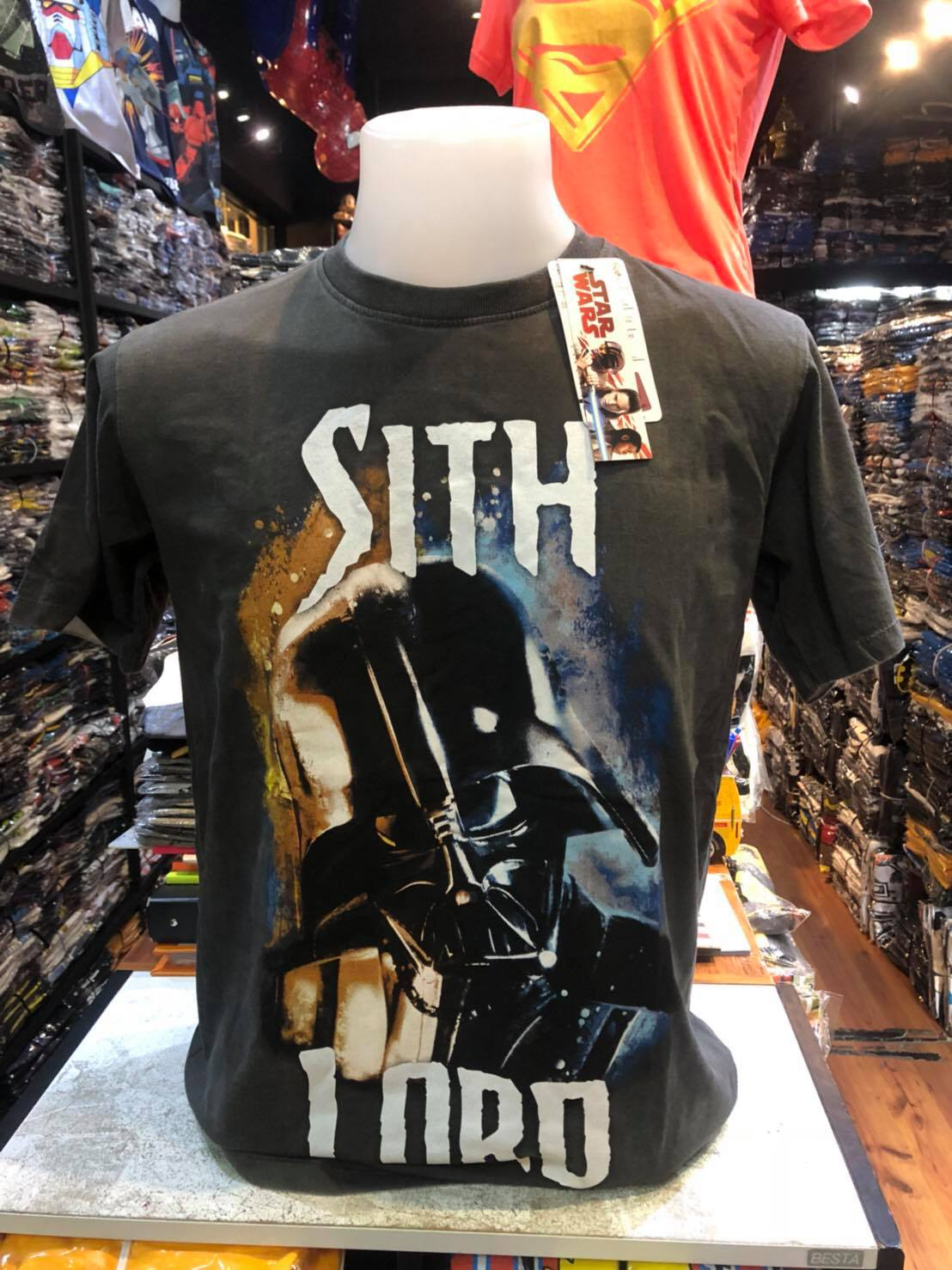 สตาร์วอร์ (Darth Vader Sith Lord gray CODE:1332)