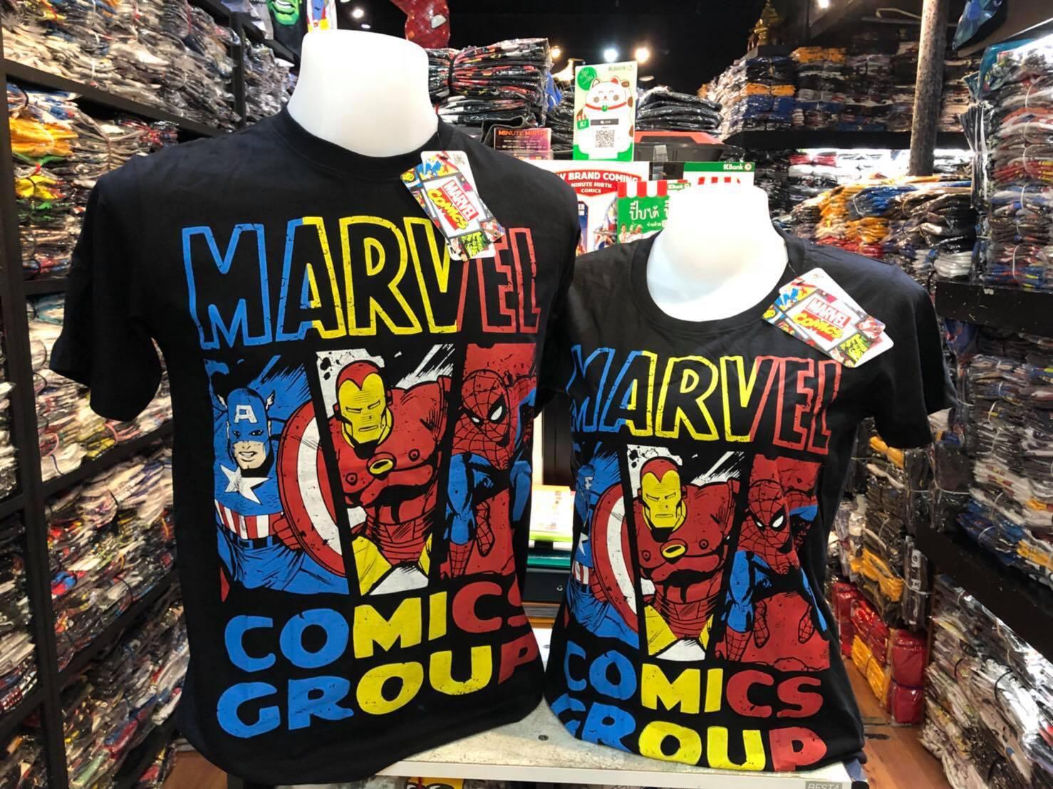 มาร์เวล สีดำ (Marvel comic group colour CODE:1177)