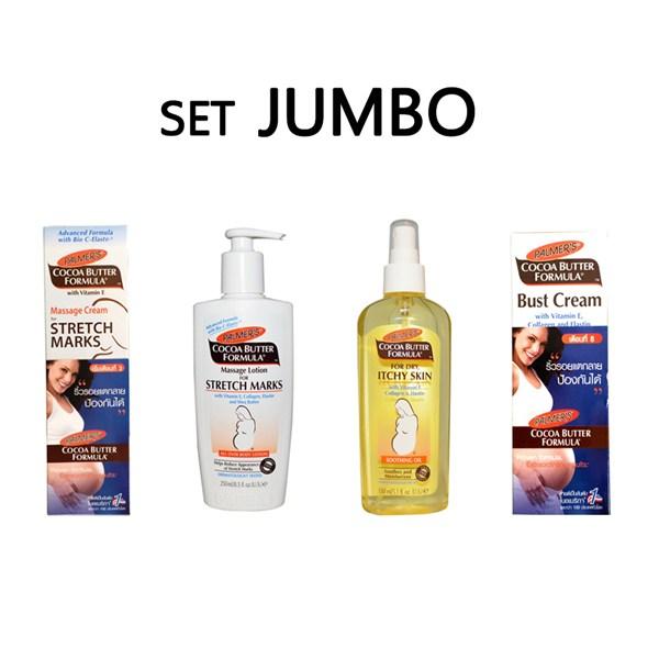 Palmer's Cocoa Butter Formula Set Jumbo ปาล์มเมอร์ โกโก้ บัตเตอร์ ฟอร์มูล่า เซต จัมโบ้