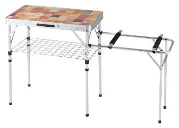 ชุดโต๊ะพับทำครัว Coleman Natural Mosaic 2 way Kitchen Stand Plus