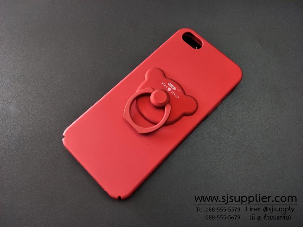 เคส Viovo Y53 แหวนหมี สีแดง BKK