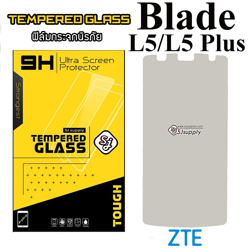 ฟิล์มกระจก ZTE Blade L5/L5 Plus