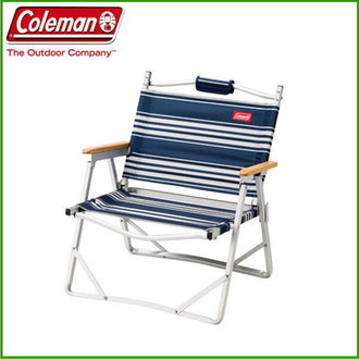 Coleman Compact Folding Chair #White&Blue