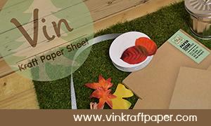 ร้านวินคราฟเปเปอร์ จำหน่ายกระดาษคราฟจากไม้สน เพื่องาน DIY และเครื่องปั๊มแบบมือโยก