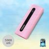 พาวเวอร์แบงค์ Remax 5000mAh E5 สีชมพู